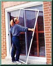 Coastal Sliding Screen Door kit
